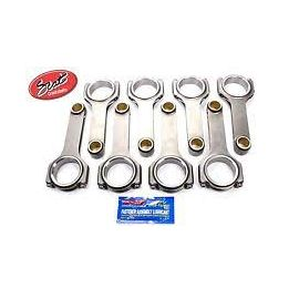 SCAT 6.000 SBC H BEAM CONNECTING RODS  2-350-6000-2100