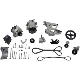 LS ENGINE FULL SERPENTINE DRIVE KIT (ONE OF THE BEST FOR ANY LS ENGINE)  A/C COMPRESSOR , PWR STEERING PUMP, ALTERNATOR & MORE ALL INCLUDED!