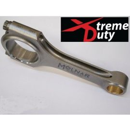 MOLNAR TECHNOLOGIES  LS 6.125 BILLET TURBO/ NITROUS BEAM CONNECTING ROD SET ( SEVERE DUTY VERSION RATED TO 1500+ HP)