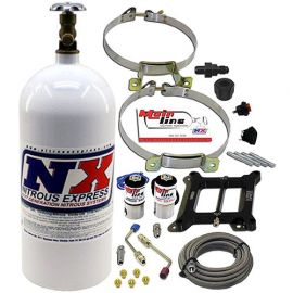 QUALITY ADJUSTABLE NITROUS PLATE SYSTEM KIT  (100-250 WHEEL HORSEPOWER NX)