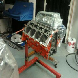 415 LSX SEVERE DUTY SHORT BLOCK FOR BOOST AND / OR NITROUS