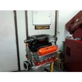 CUSTOM LS / LSX SUPER CHARGED ENGINE (CROWER SHAFT ROCKERS, SOLID CAM, 1030HP @ 5400 RPM)